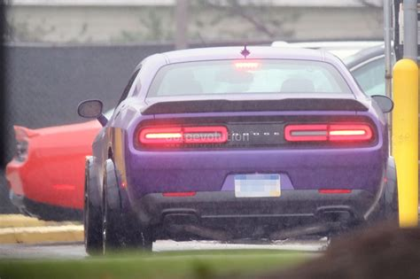 widebody demon 2018 dodge challenger srt demon to debut at 2017 new york