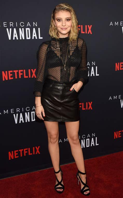 Genevieve Hannelius At Netflix S American Vandal Tv Show Special Screening In La Celebzz