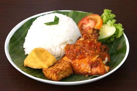 design banner ayam goreng jual catering nasi box lunch paket nasi ayam rica rica
