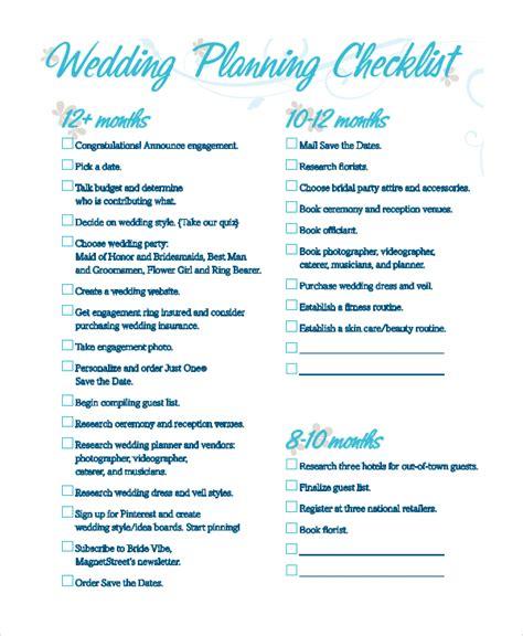 wedding planning checklist junebug weddings wedding checklist