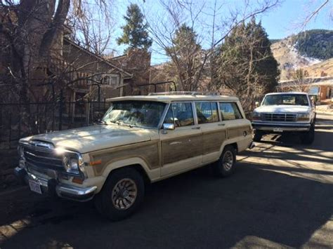 1986 Jeep Wagoneer Parts 1986 Jeep Grand Wagoneer For Sale In Golden Colorado 3 500
