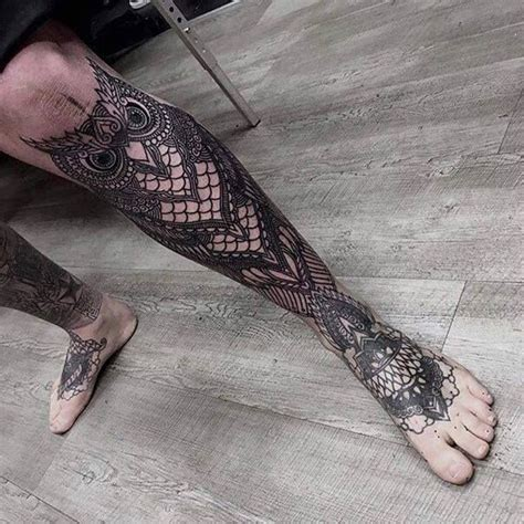 leg sleeve tattoos for men tatoo and tatting