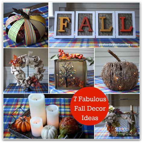 fall decorating ideas 2013 7 fabulous fall decor ideas yesterday on tuesday