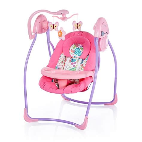 electronic swing for baby 2 in 1 electronic swing with canopy and front tray