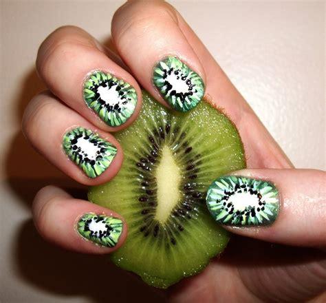 nail art tutorial kiwi kiwi nails by kaylamckay on deviantart