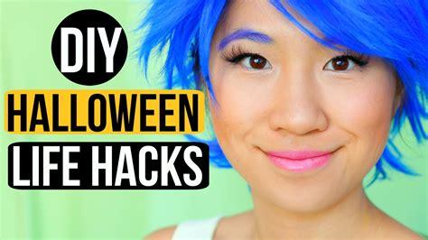 diy hacks youtube diy life hacks for halloween youtube
