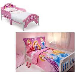 Toddler Bed Frames At Walmart Disney Princess Toddler Bed W Bedding Bundle Toddler