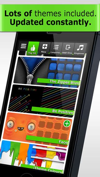 can you get themes for iphone 5 itheme themes for iphone ipad and ipod touch magic
