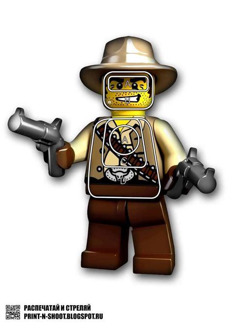 printable cowboy targets lego cowboy target free printable shooting targets