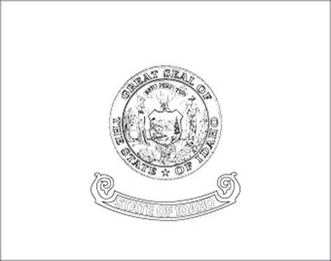 idaho flag flag of idaho state