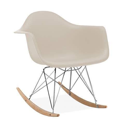 chaise bascule eames chaise 224 bascule rar style eames secret design