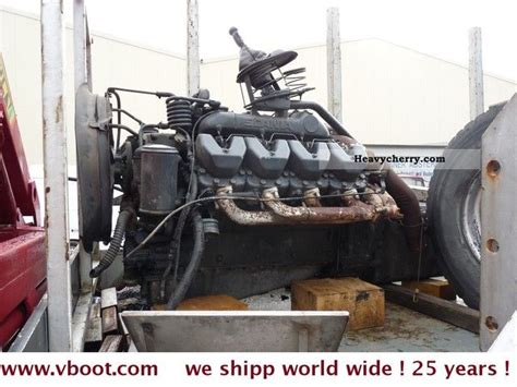 scania 142 v8 turbo engine also m 112 and m 113 1995