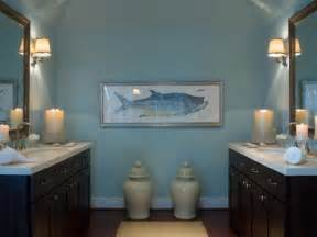 blue and brown bathroom cottage bathroom hgtv