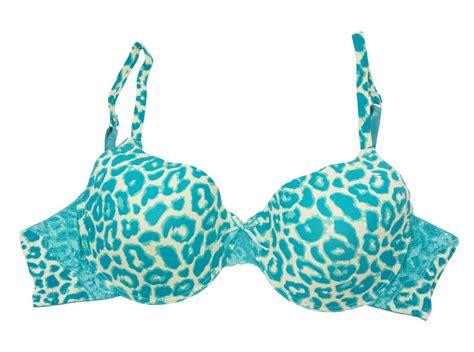 Bra Nonwire Blue Leo Print blue plus size leopard lace plunge underwire bra 909 42d