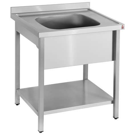stainless steel sink with legs inomak stainless steel sink on legs la571c single bowl