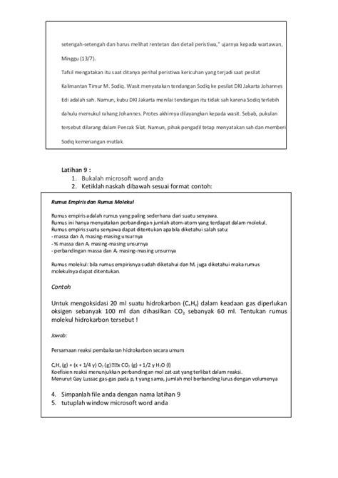 format surat kuasa biasa contoh surat biasa menurut proses penyelesaiannya contoh
