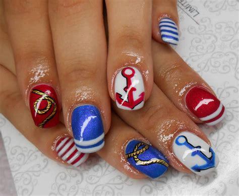 Sailor Nails Design