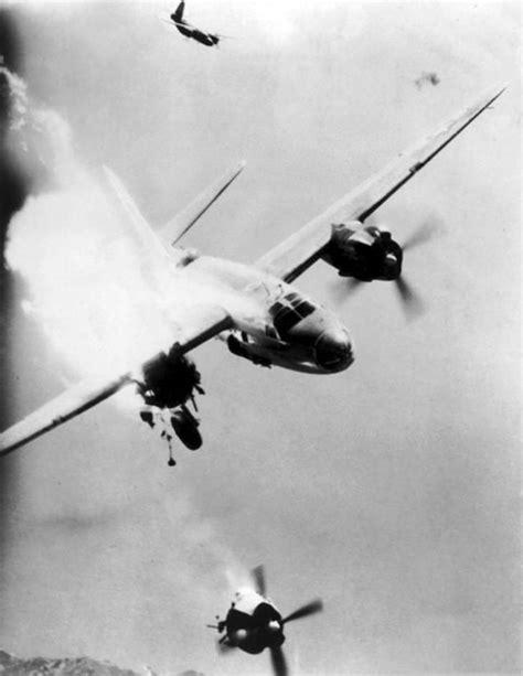 Um avião Martin B-26 Marauder é atingido em Toulon | Museu