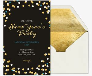 Free New Year S Eve Party Invitations Evite Com New Years Ticket Template