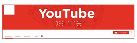 Youtube Banner Best Practices Channel Banner Template Png