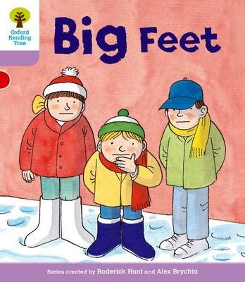 the foot book big 0553536303 oxford reading tree level 1 first sentences big feet by gill howell roderick hunt waterstones