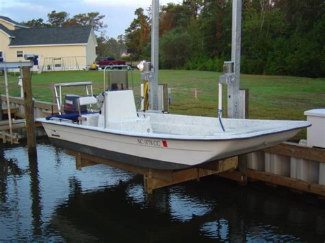 skiff pole sold tide tamer 2 pole skiff lift the hull truth