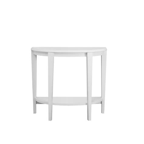 Monarch Console Table by Monarch Specialties White Console Table I 2451 The Home