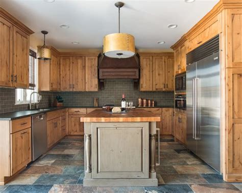 alder cabinets home design ideas pictures remodel  decor