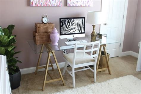 Chic Diy Computer Desk Ideas Diy Glass Desk
