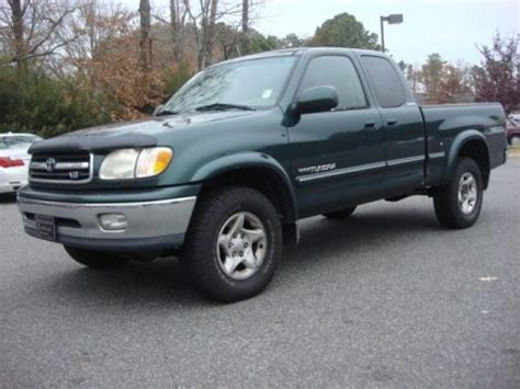 2002 Toyota Tundra Specs 2002 Toyota Tundra Limited Access Cab 4x4 Data Info And