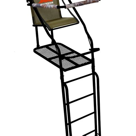 l on a stand cool millennium treestands l single ladder stand plus fing