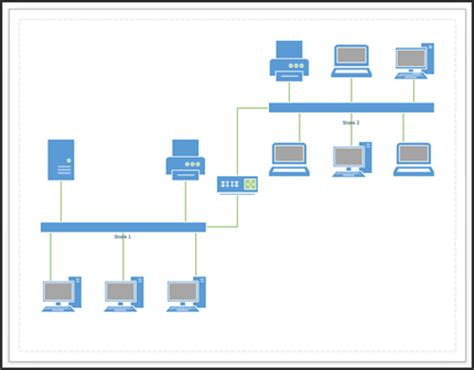 visio basic network diagram visio gallery how to guide and