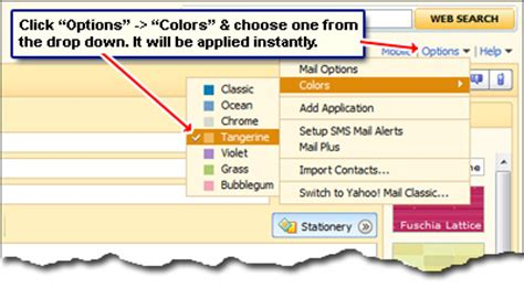 change layout yahoo mail how do i customize yahoo account change colors and