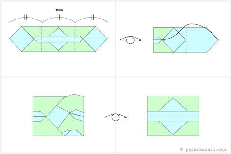Origami Tissue - easy origami tissue holder