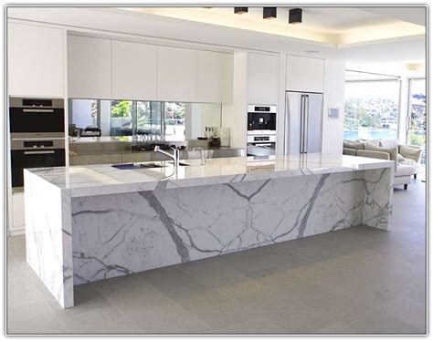 carrara marble kitchen island 20 of the most gorgeous marble kitchen island ideas