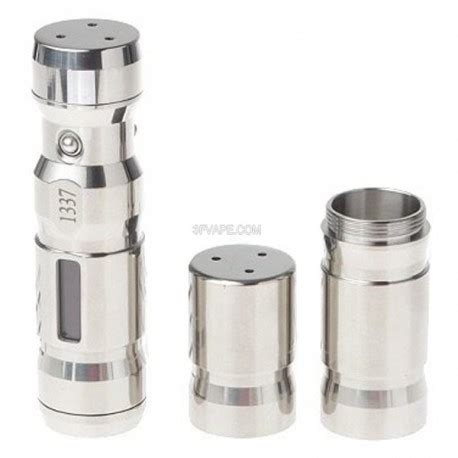 Swabia Dna 35w1337 Mod swabia dna 1337 style dna 35w variable wattage mod silver 7 35w stainless steel 1 x 18650