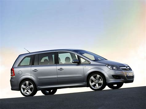 opel zafira opel zafira technical specifications and fuel economy