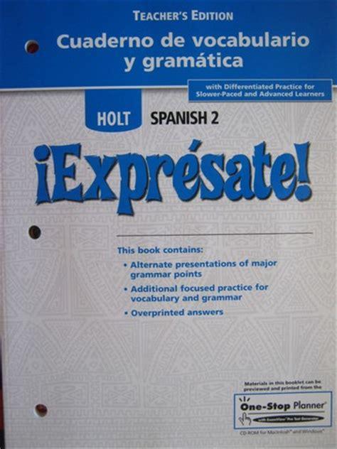 gramatica en contexto cuaderno 8477117195 image gallery spanish 2 workbook