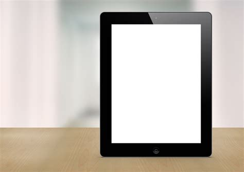 black ipad photoshop mockup pitchstock