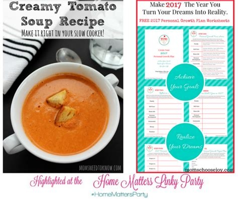come home to your favorite soup of the day and hearty soup bisque and chowder recipes books home matters linky 117 domestic deadline