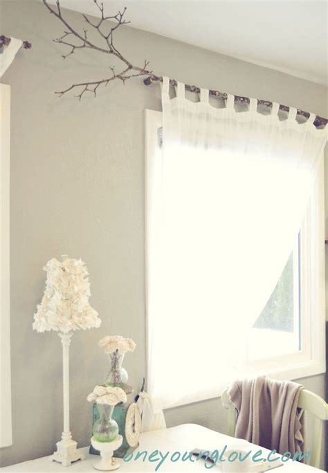 Hanging Curtains On Poles Designs 25 Best Ideas About Branch Curtain Rods On Pinterest Hang Curtains Wooden Curtain Rods And