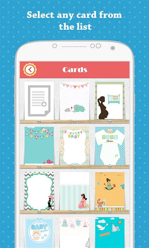 Baby Shower Apps by Baby Shower Invitation Free Apk Android App Android Freeware