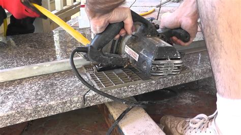 Can You Cut On Granite Countertops by How To Install Granite Countertops On A Budget Part 3