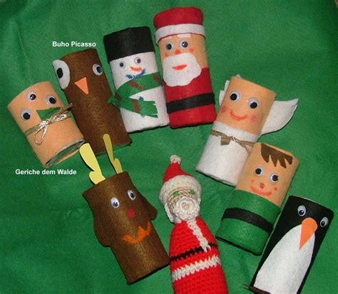 imagenes de tarjetas navideñas para hacer con niños fe fieltro y rollos de papel higienico manualidades con