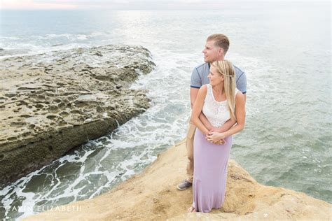 Wedding Anniversary Ideas San Diego by Sunset Cliffs Anniversary Photography Session