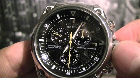 Calendar Drive Time Citizen Chronograph Time Date Month Leap Year Adjustment