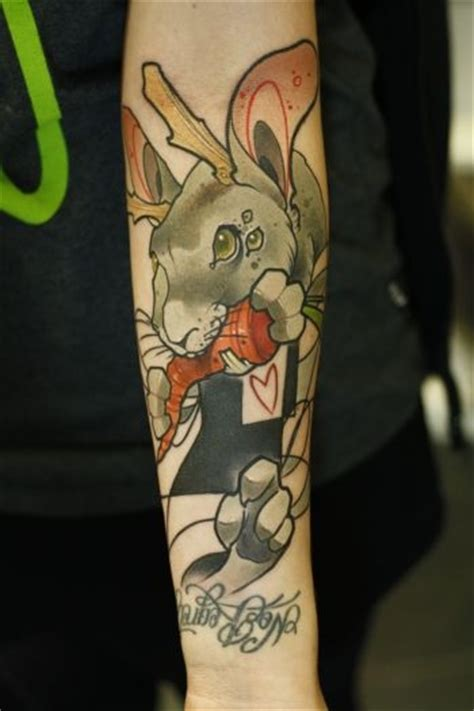 tattoo old school rabbit manuel hase bilder news infos aus dem web