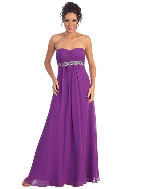 what is a slit l chiffon empire waist evening dress sung boutique l a