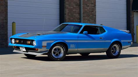ford mustang 1971 mach 1 1971 ford mustang mach 1 fastback f155 indy 2016
