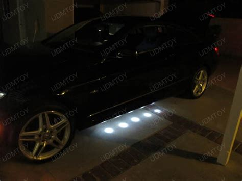 white 95 quot brabus style 45 led lights car puddle